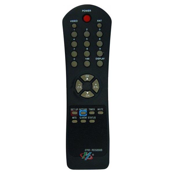 Control Remoto TV Admiral RD3200